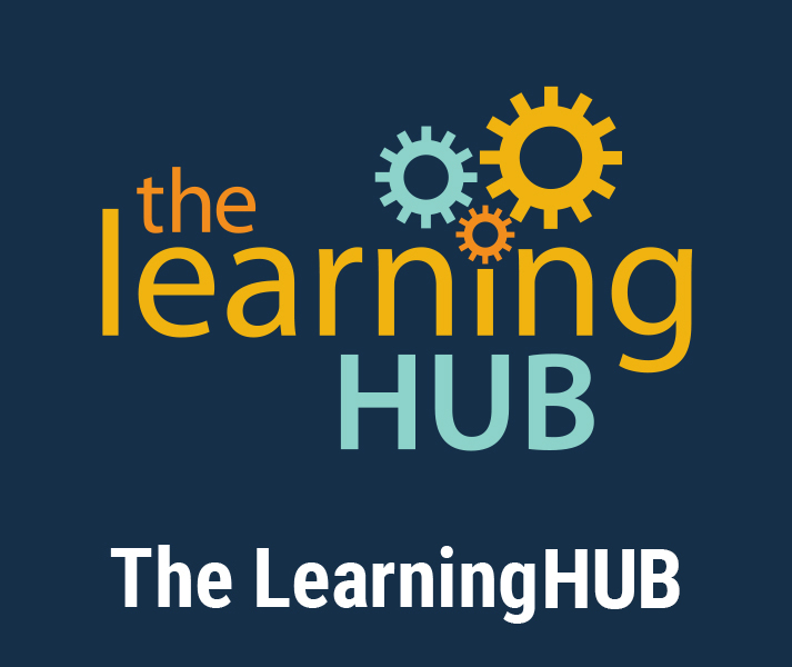 The LearningHUB. The LearningHUB logo.